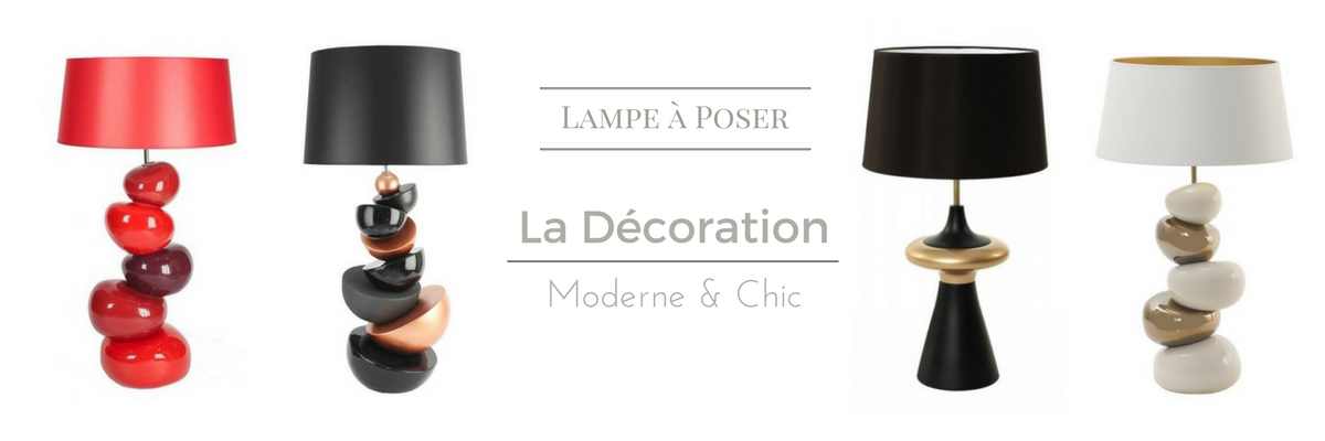 Collection Lampe à poser 2017